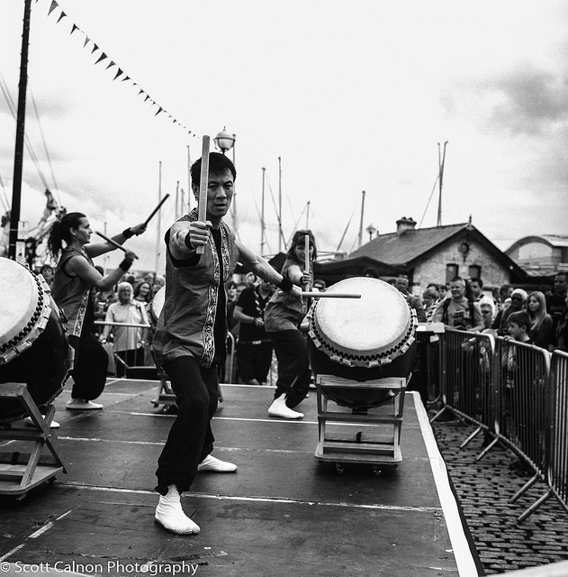 new-drummers-medium-format-sea-festival-plymouth-photography-barbican