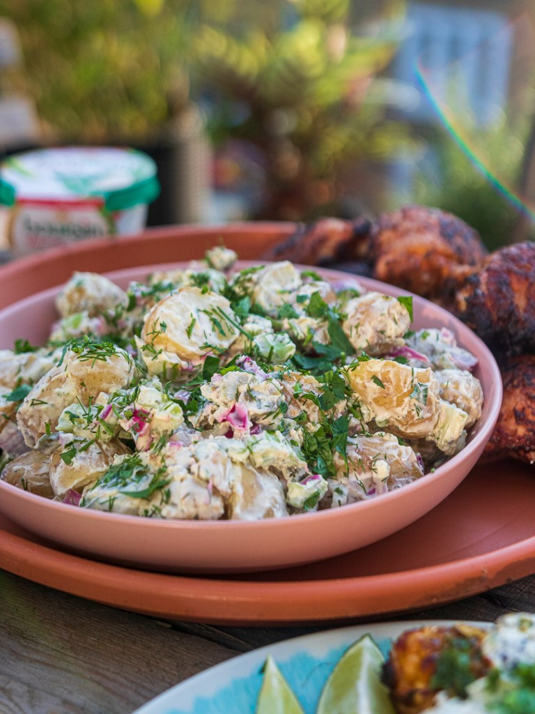 Creamy Boursin Potato Salad