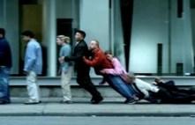 People Falling Like Dominoes