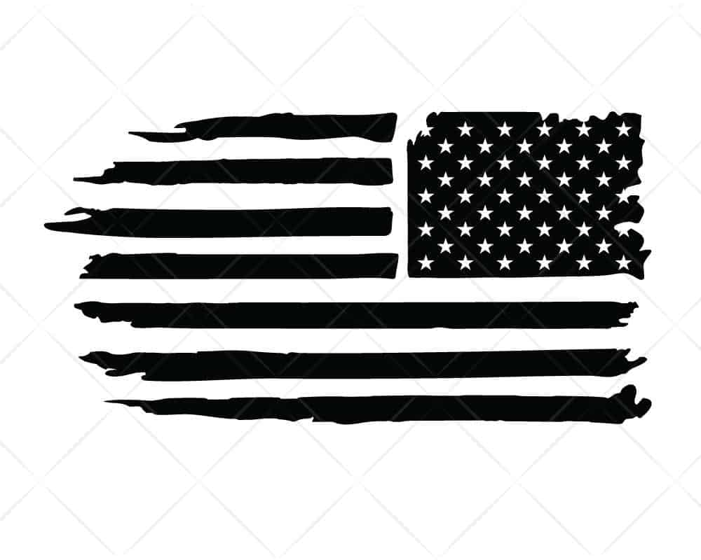 Download American Flag Distressed SVG Cut Files for Cricut and ...