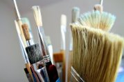 types of paint brush