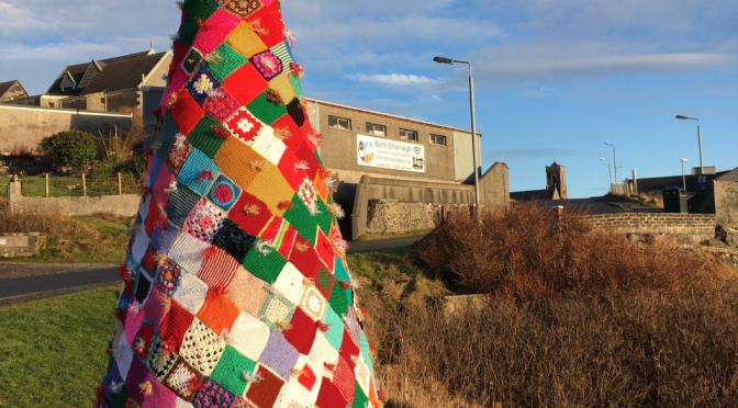 The Icing on the Cake for Castlebay Christmas Tree