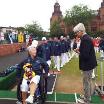 2016 Home Nations Bowls Tournament - Scottish team