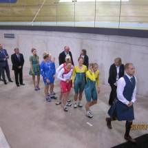 Aileen McGlynn and Louise Haston medal ceremony (2)
