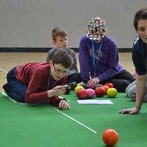 Carpet bowls coached by Sarah Jane Ewing