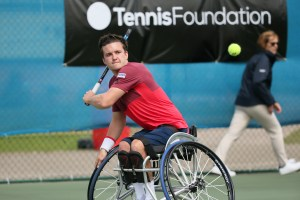 Gordon Reid at the British Open
