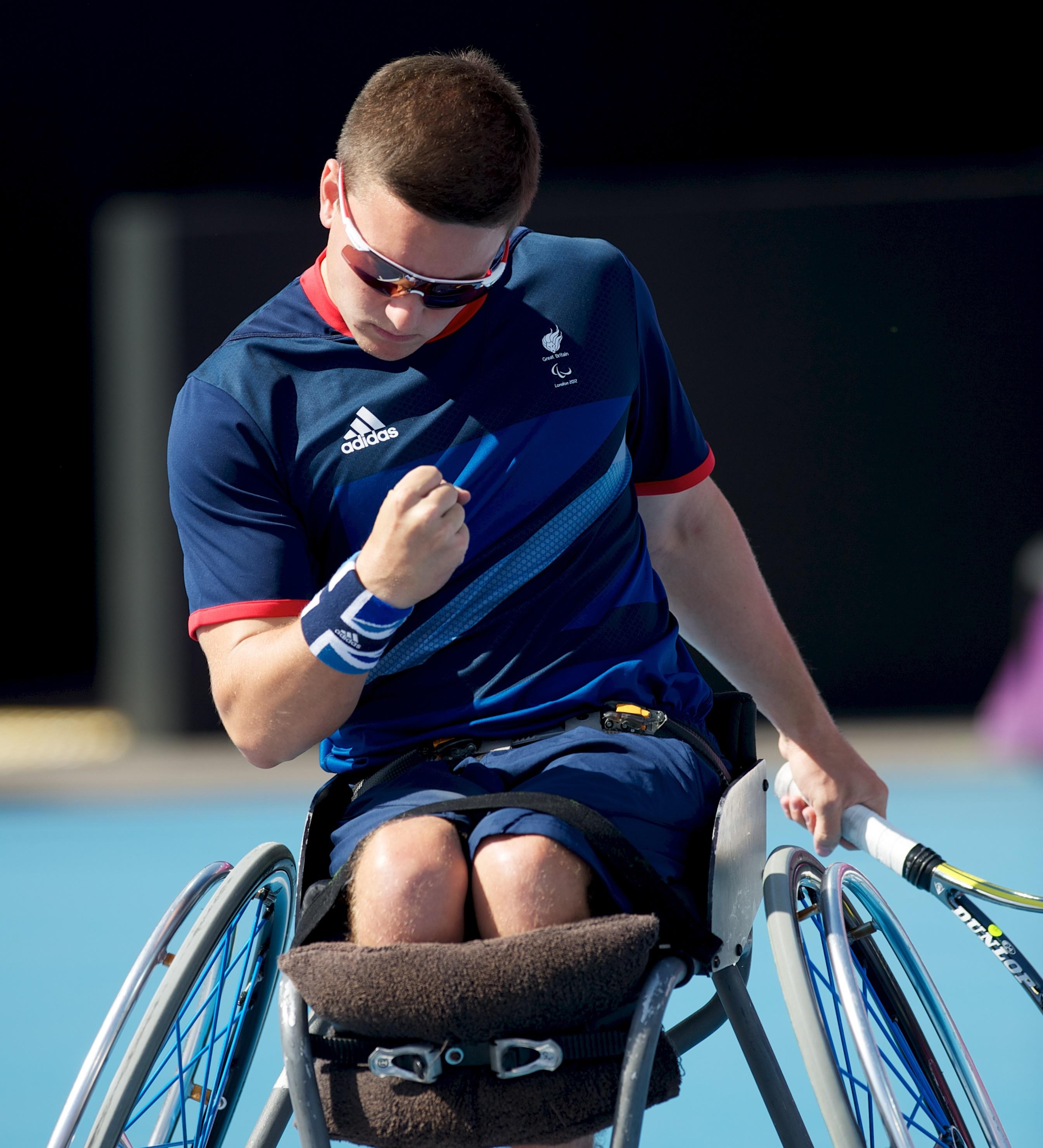 Gordon Reid, wheelchair tennis