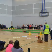 Laura Cluxton at the visual impairment sports engagement day