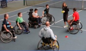 Central Scotland Disability Tennis Session