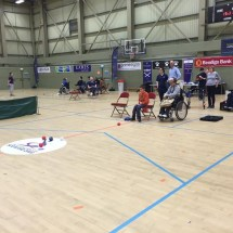 Boccia at the Discovery Games