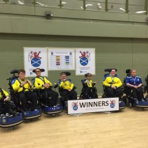 Powerchair football at the Discovery Games