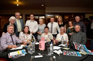 Group Table at the Scottish Indoor Bowling Awards