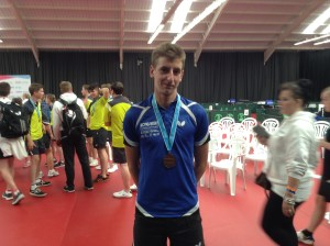 David Morrison of Drumchapel Table Tennis Club