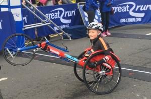 Callum Sloan at the Great Scottish Run