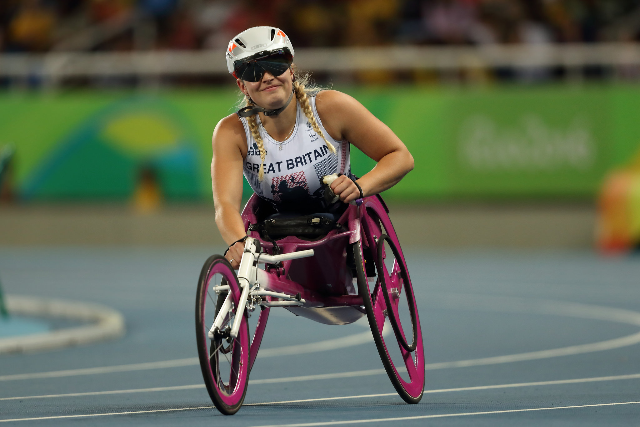 World Record for Sammi Kinghorn