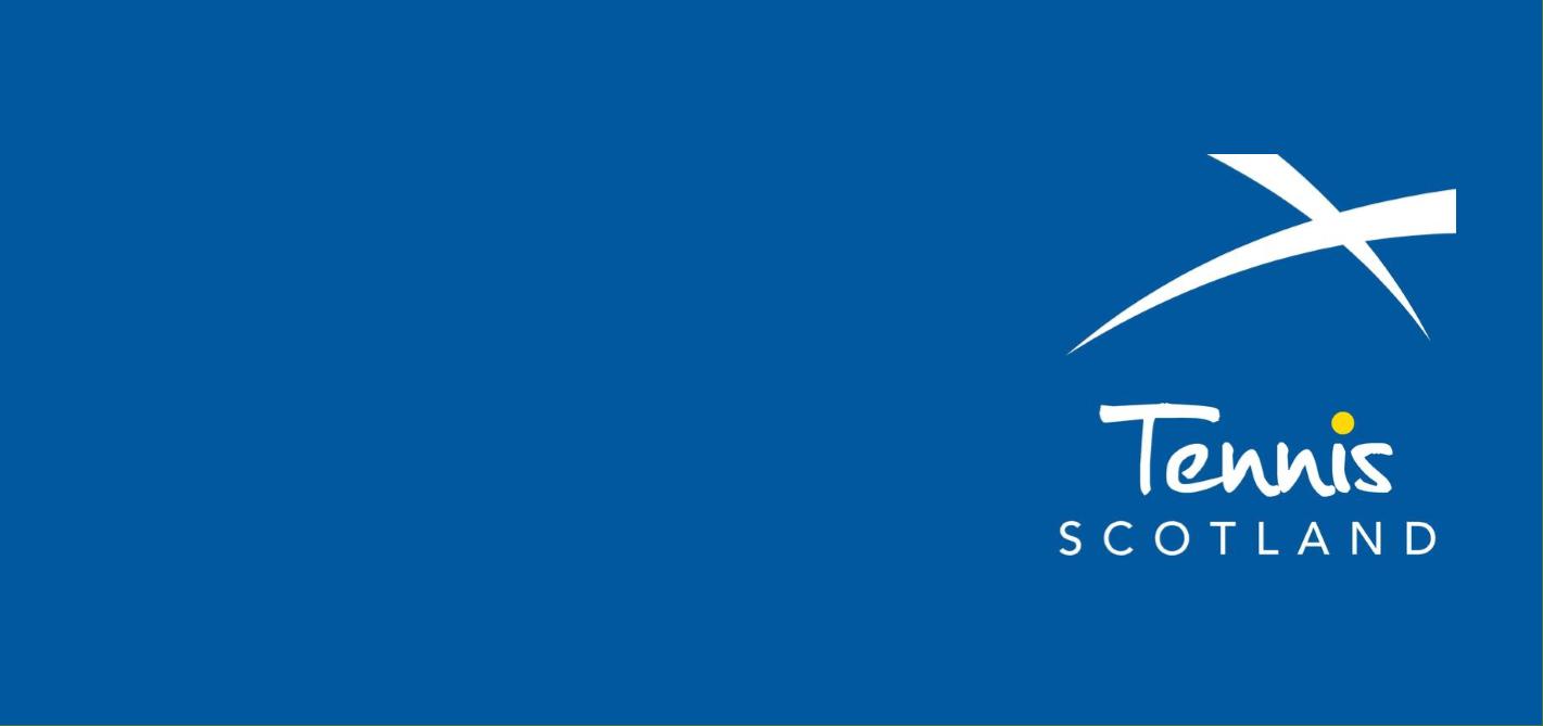 Tennis Scotland – Board Chairperson – Voluntary Role