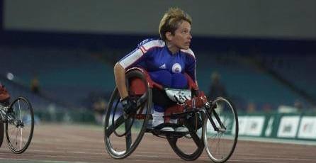 Karen Lewis Archer racing