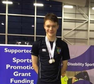 Jack Milne at the National Junior Swimming Championships 2016
