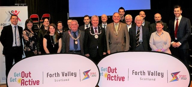Get Out Get Active Regional  (GOGA) Forth Valley Launch
