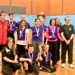 The winning Forth Valley team
