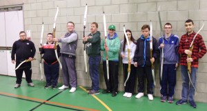 Group photo of archers