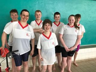 Group photo of Fife swim team