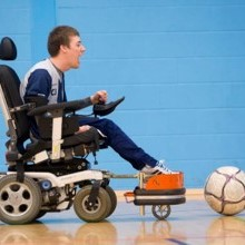 Chris Jacquin Selected for Scottish Powerchair Football Squad