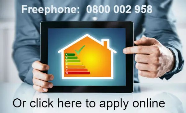 Apply for free loft or cavity wall insulation