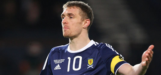 Darren Fletcher Scotland