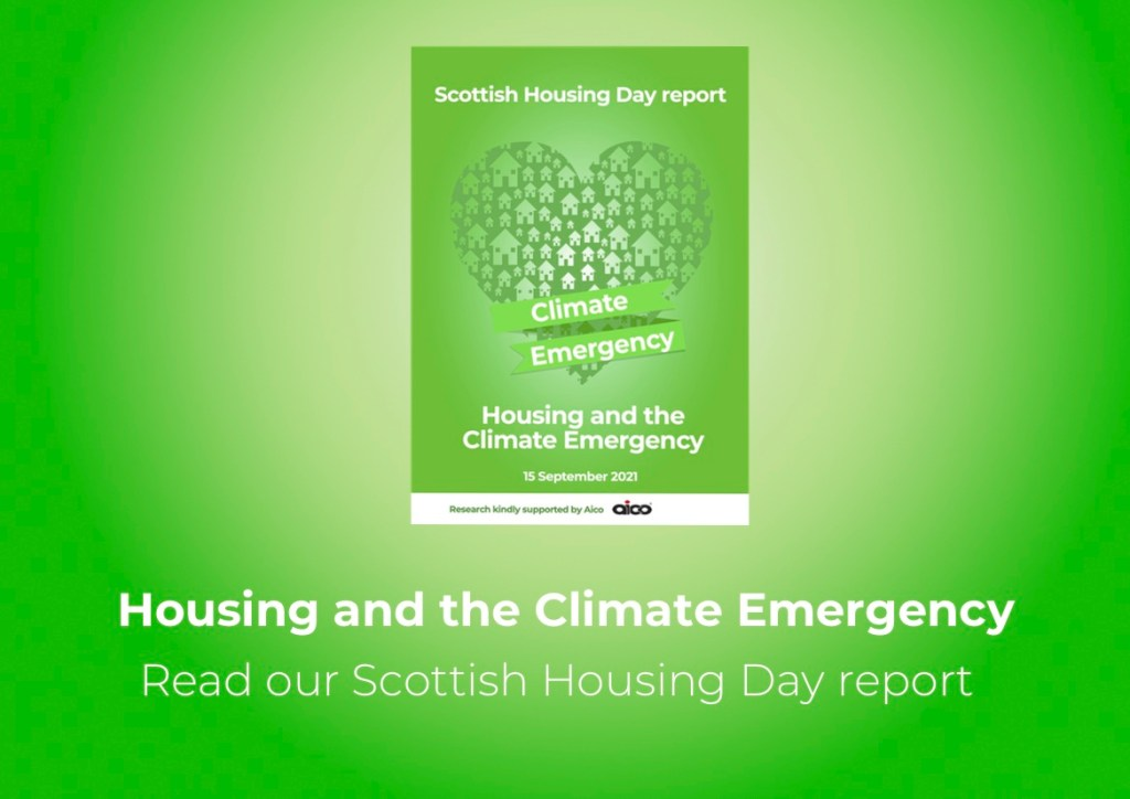 Scottish Housing Day report cover