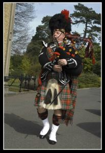 Chic Mackie - South East England  Bagpiper Hire