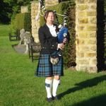 Catherine Harman - Devon Bagpiper Hire