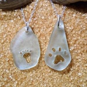 Prints in the Sand Pendants