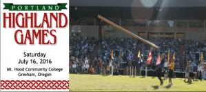 Portland Highland games - July 16, 2016