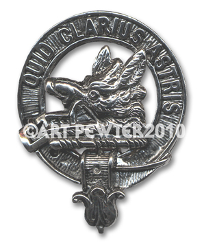 Baillie Clan Crest Badge