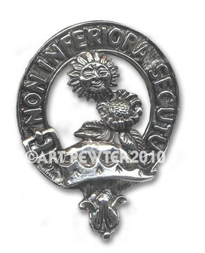 Buchan Clan Crest Badge
