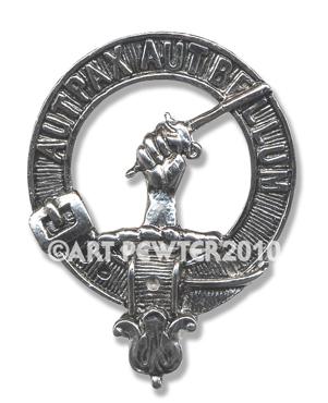 Gunn Clan Crest Badge