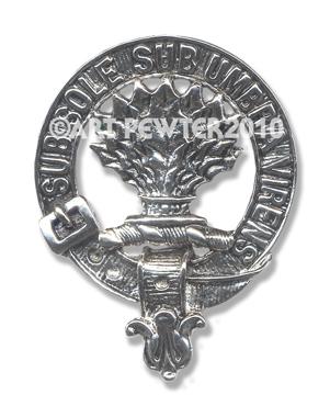 Irvine Clan Crest Badge
