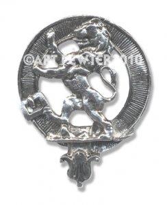 Rampant Lion Crest