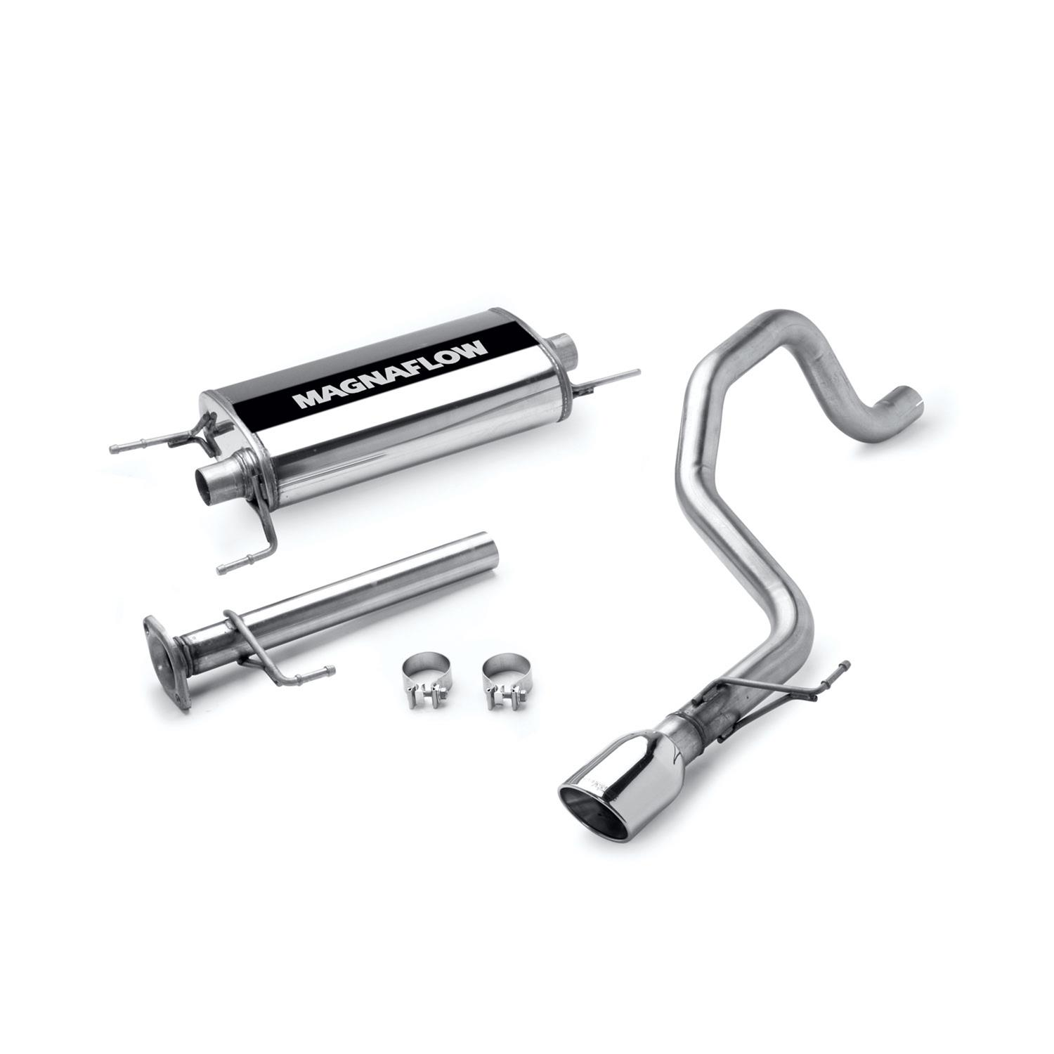 Exhaust Magnaflow Cat Back Stainless Steel And Aluminized