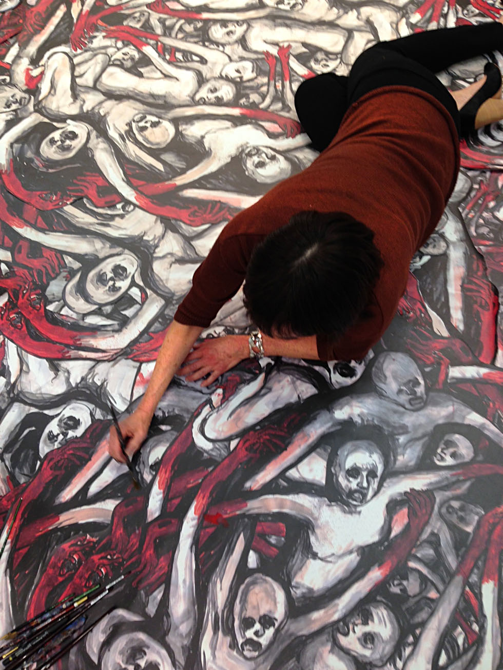WEB Covey floor painting
