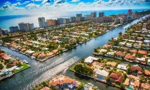 Fort Lauderdale Waterway aerial post image