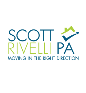 Scott Rivelli Website Logo, Moving In The Right Direction