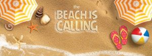 The beach is calling title image