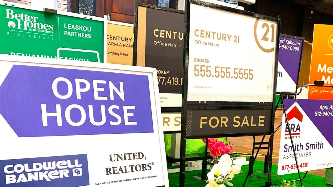 picture of real estate signs  taken by Jim Dalrymple II