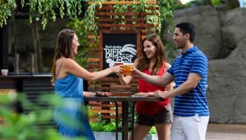 busch gardens bier fest group shot - Busch Gardens Food And Wine Festival 2018 Concerts