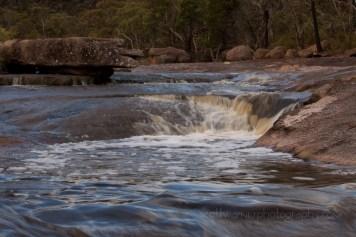 Bald Rock creek after heavy rain