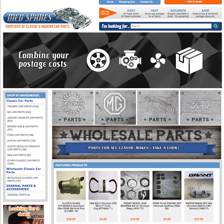 MEV SPARES in SCOTTYS Supplier Library IMG3