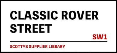 CLASSIC ROVER PARTS SUPPLIERS