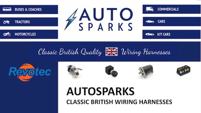 AUTOSPARKS Wiring Harnesses in SCOTTYS Supplier Library img2
